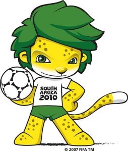 mascota mundial sudafrica 2010